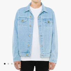 American Apparel Light Wash Denim Jacket
